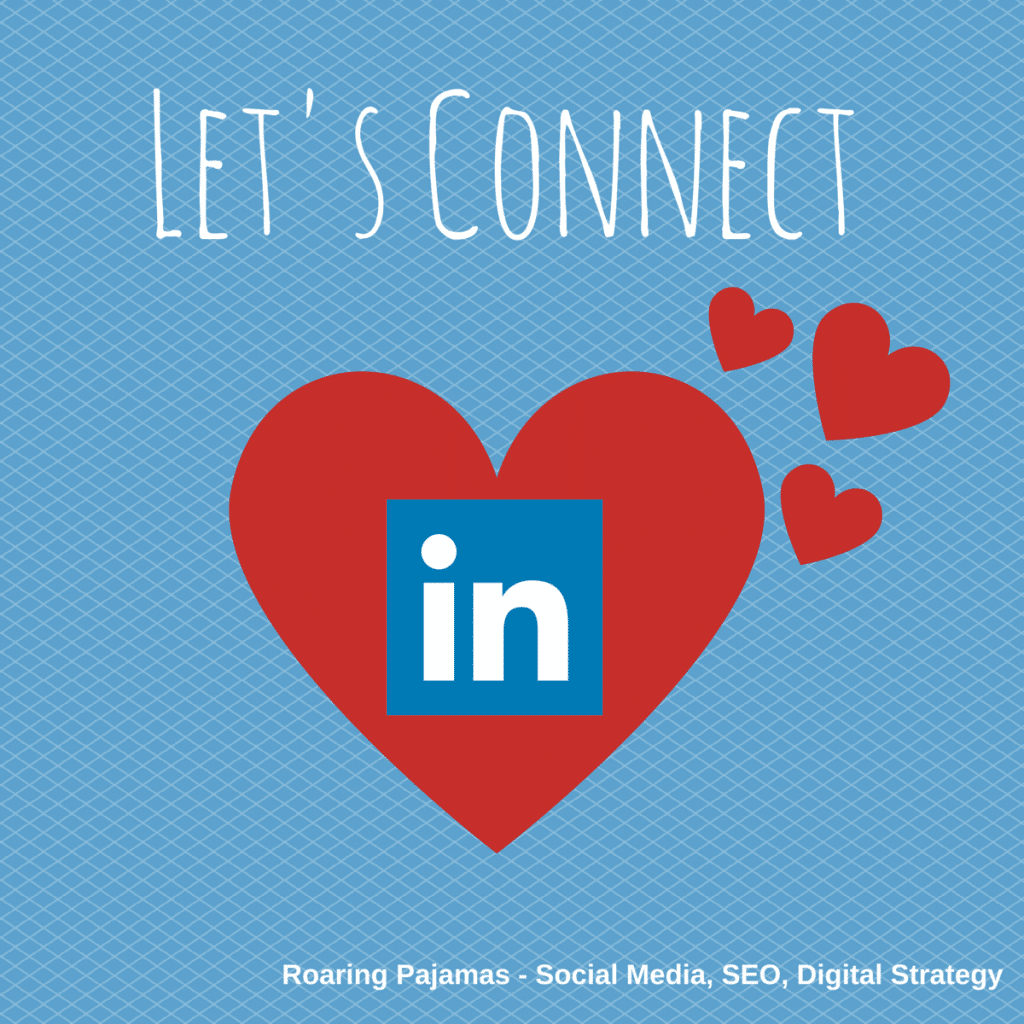 Valentine's Social Media Greeting, LinkedIn