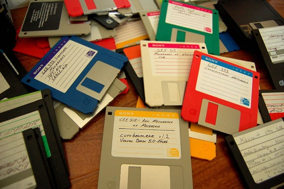 Aging software disks