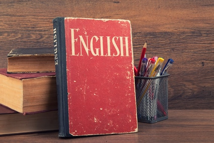 English, Grammar, Book, Words