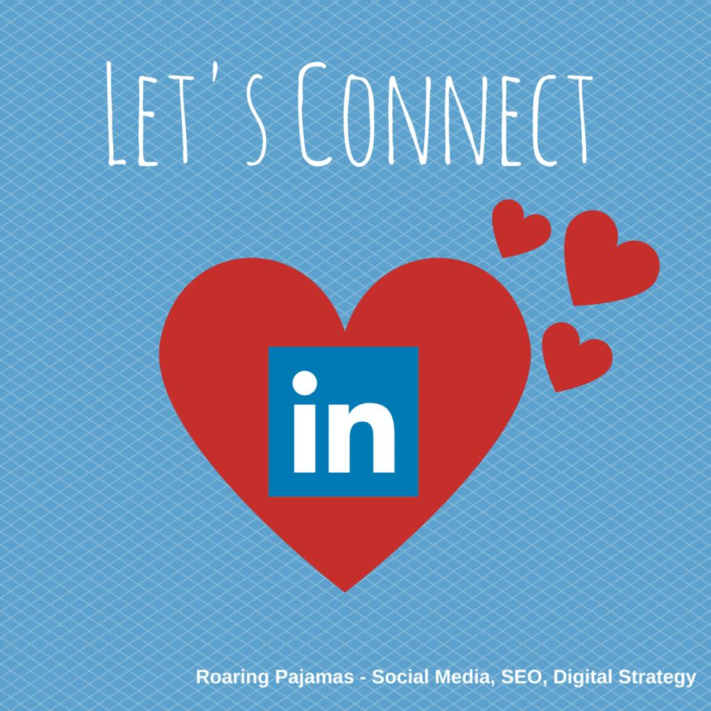 Valentine's Social Media Greeting, LinkedIn