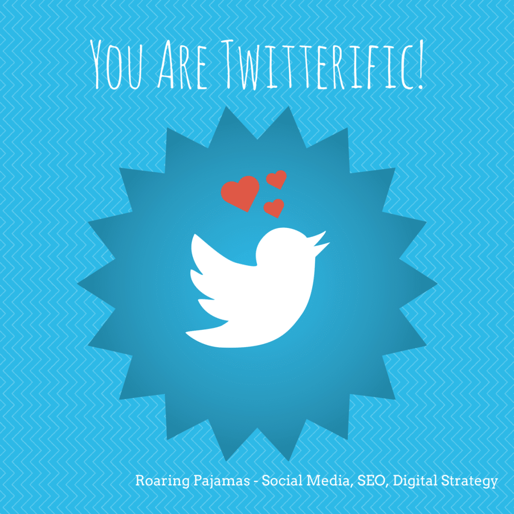 Valentine's Day Greeting, Twitter