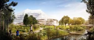 Google Campus, Futuristic Buildings