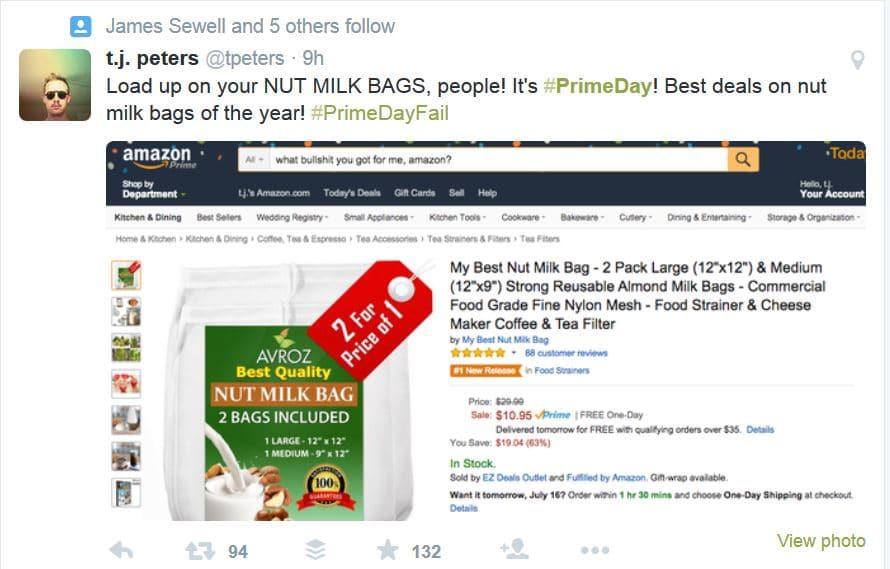 Amazon Prime Day Fail, Prime Day, Amazon Prime Members
