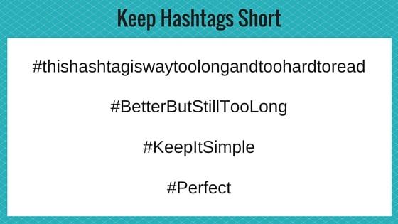 Hashtags, Hashtag Length
